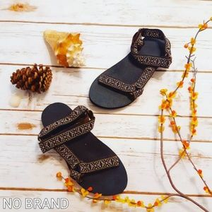 Chaco Style Dad Embroidered Hiking Sandal